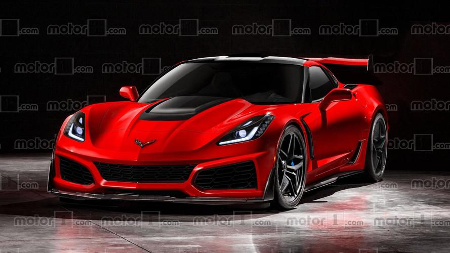2018 Chevy Corvette ZR1 böyle görünmeli!