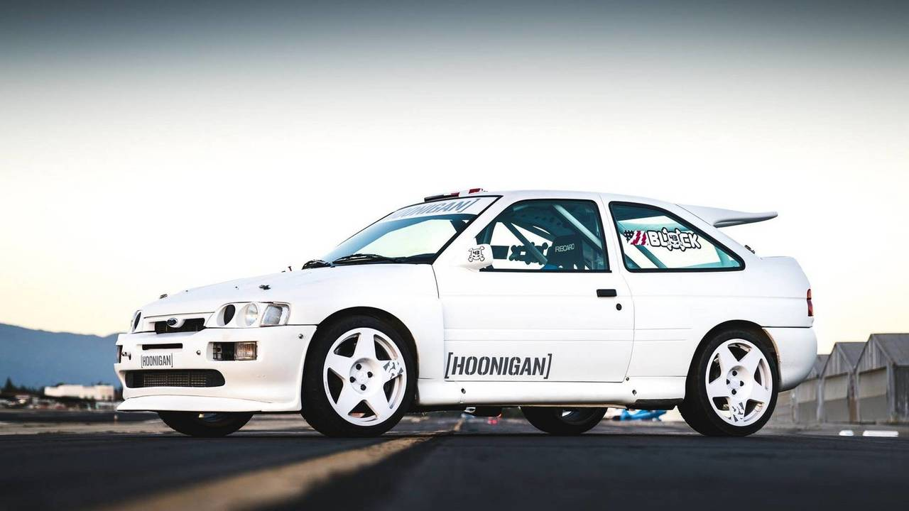 Ken Block's 1991 Ford Escort Cosworth Rally Car