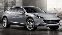 Ferrari FX render