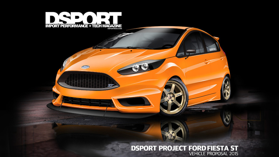 Ford previews two modified Fiesta STs for SEMA