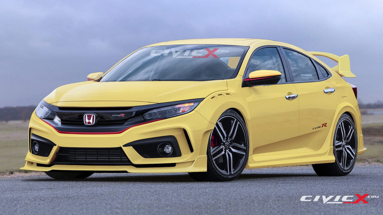 2017 Honda Civic Type R render