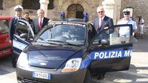 Chevrolet Matiz for Italian Police