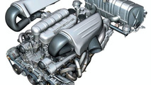 Carrera GT motor grafiği