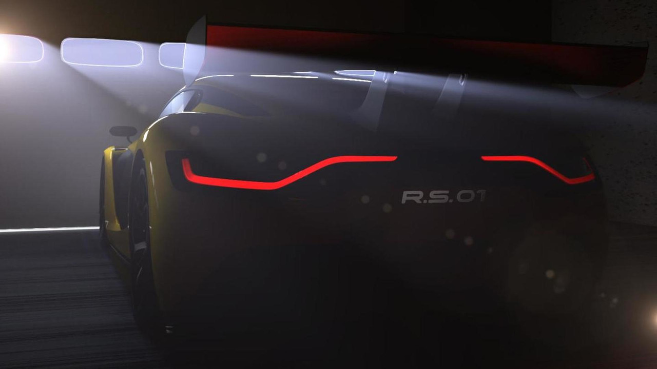 Renaultsport R.S. 01 teaser