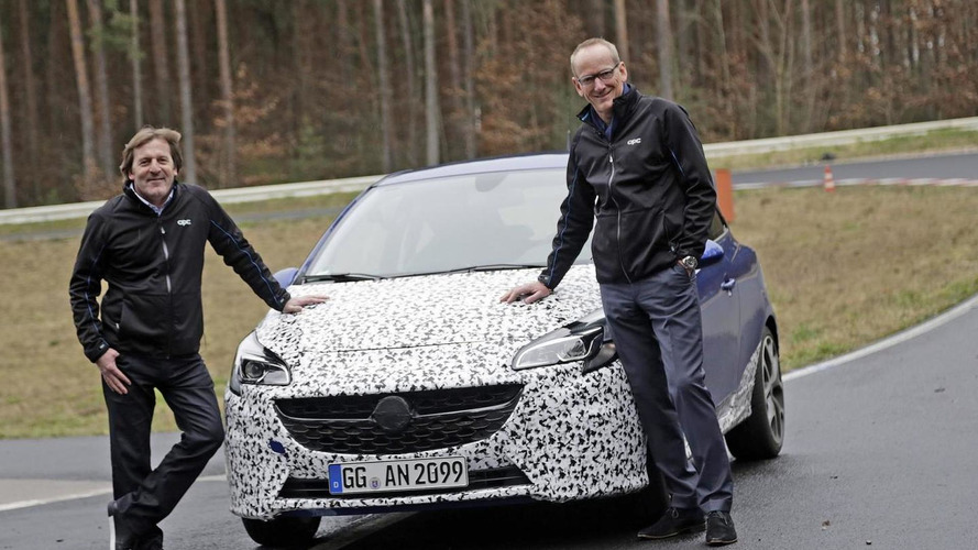 Opel Corsa OPC teased, debuts in Geneva [video]