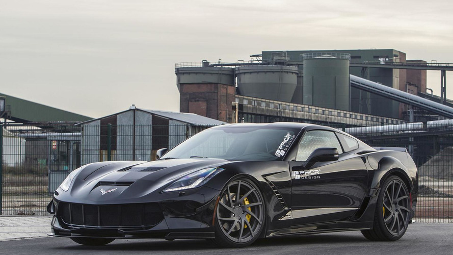 Corvette Stingray gets a widebody kit from Prior Design