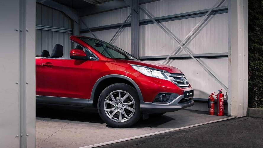 1 de abril - Honda CR-V conversível