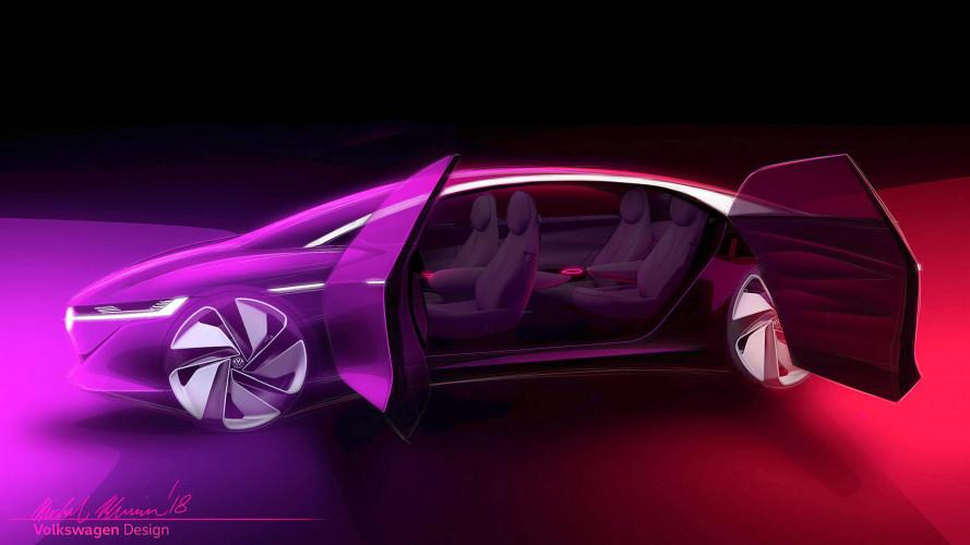 I.D. Vizzion Concept, la berlina del futuro di Volkswagen