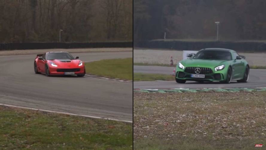 Listen To This Corvette Z06 And Mercedes-AMG GT R Sing V8 Harmony
