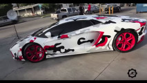 Le Lamborghini di Chris Brown