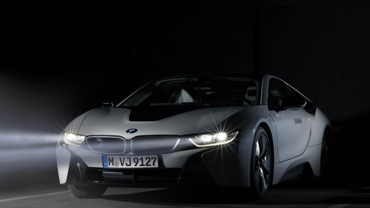 BMW i8: Laserlicht
