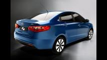 Kia apresenta o Novo K2 / Rio Sedan 2012