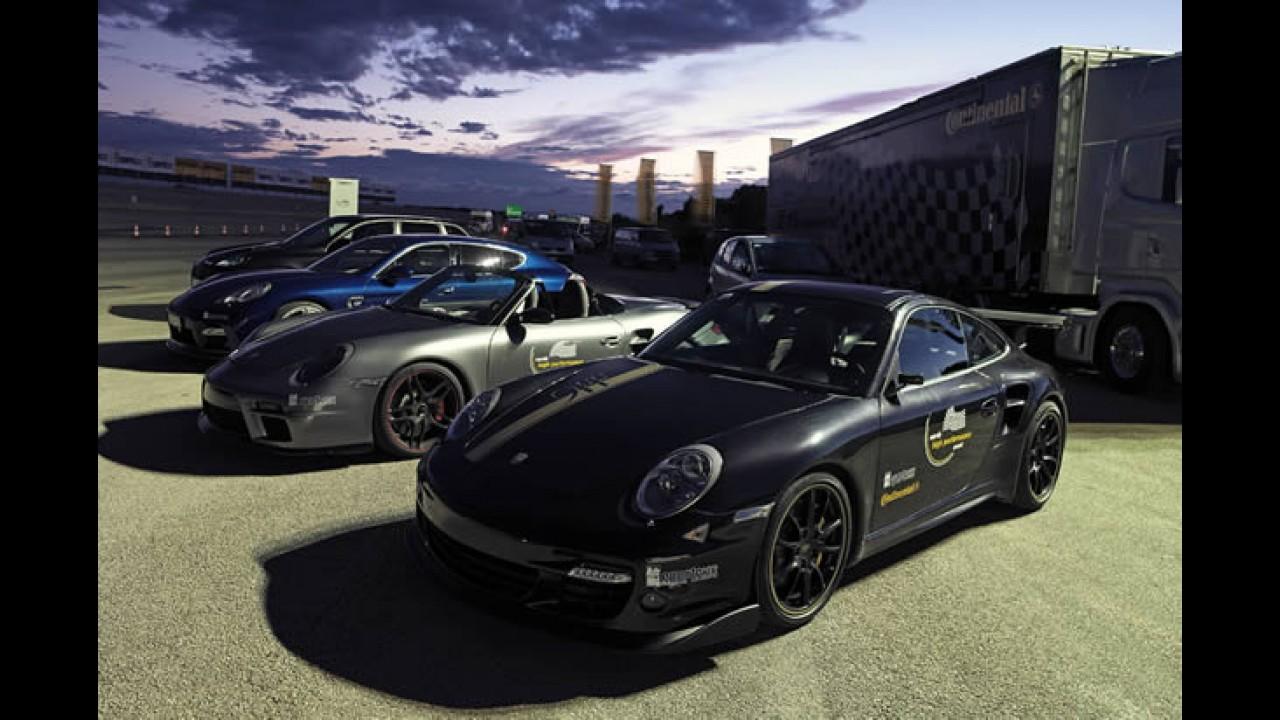 VÍDEO: Veja o 9ff TR 1000 chegar a 391.7 km/h - O Porsche 911 mais rápido do mundo!!