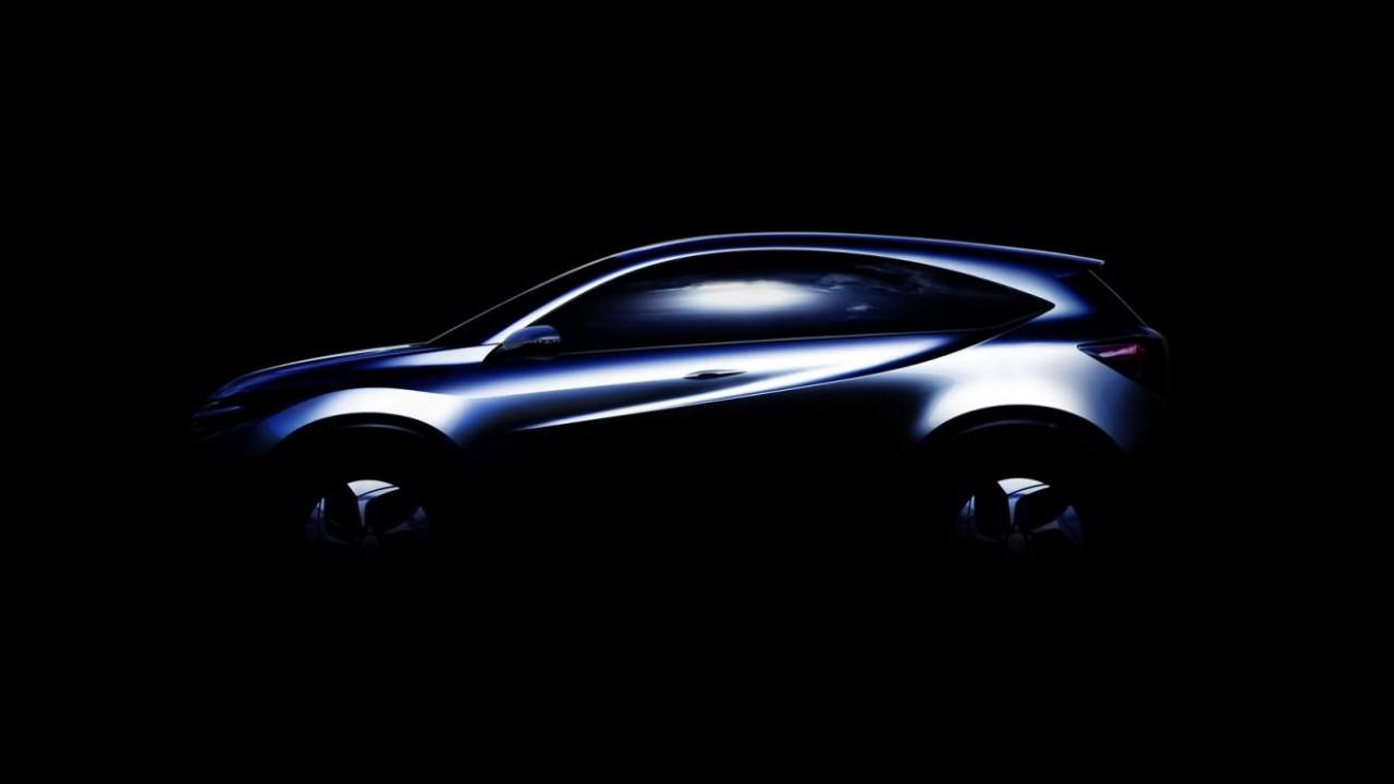Honda divulga teaser do Urban SUV Concept, crossover do Fit que será feito no Brasil