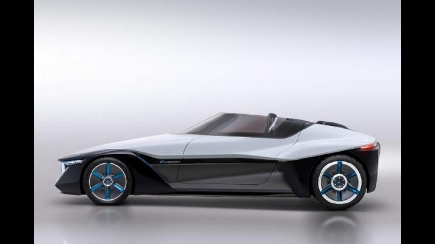Nissan apresenta o conceito BladeGlider inspirado em asa-delta