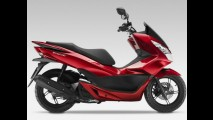 Recém-lançado no Brasil, scooter Honda PCX já aparece reestilizado na Europa