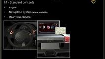 Lamborghini Murcielago LP650-4 Roadster brochure leak