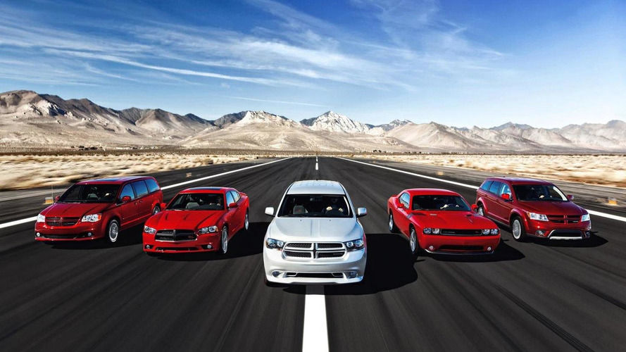 Dodge R/T models for Charger, Challenger, Journey, Durango and Grand Caravan announced