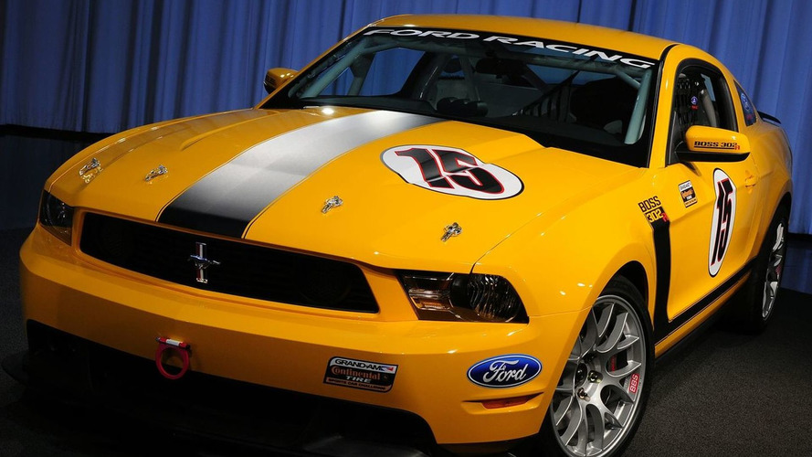 2011 Ford Mustang BOSS 302R for the Ractrack