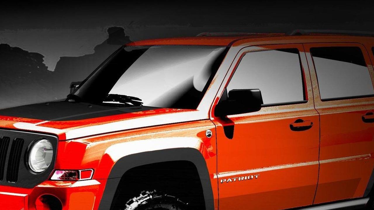 Jeep Patriot Extreme design sketch 15.03.2010
