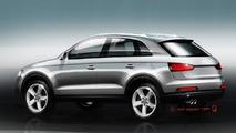 Audi Q3 teaser image - 7.4.2011