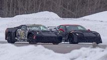 Chevy mid-engine Corvette spy pics