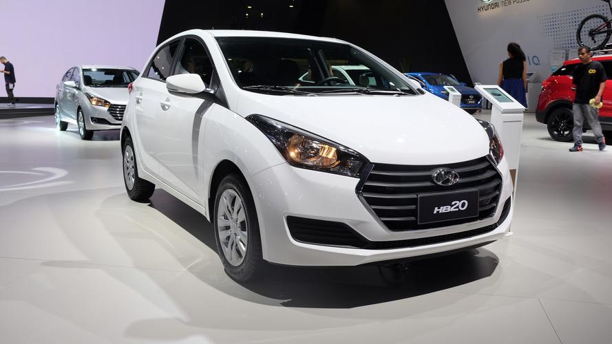 Novo Hyundai HB20 2017 tem aumento de preços e perde versões
