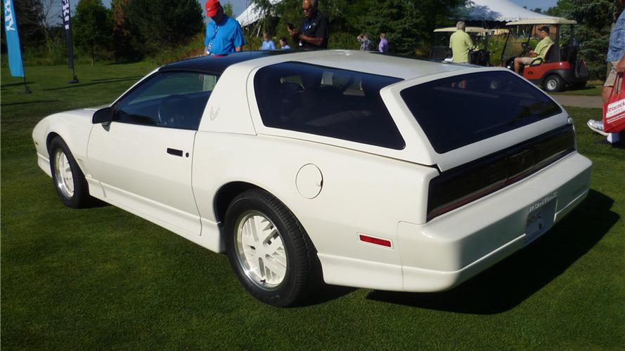 Pontiac Trans-Am Kammback açık arttırmaya çıkmaya hazırlanıyor
