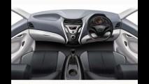 Hyundai divulga primeiros esboços de Eon, novo compacto de baixo custo para a Índia