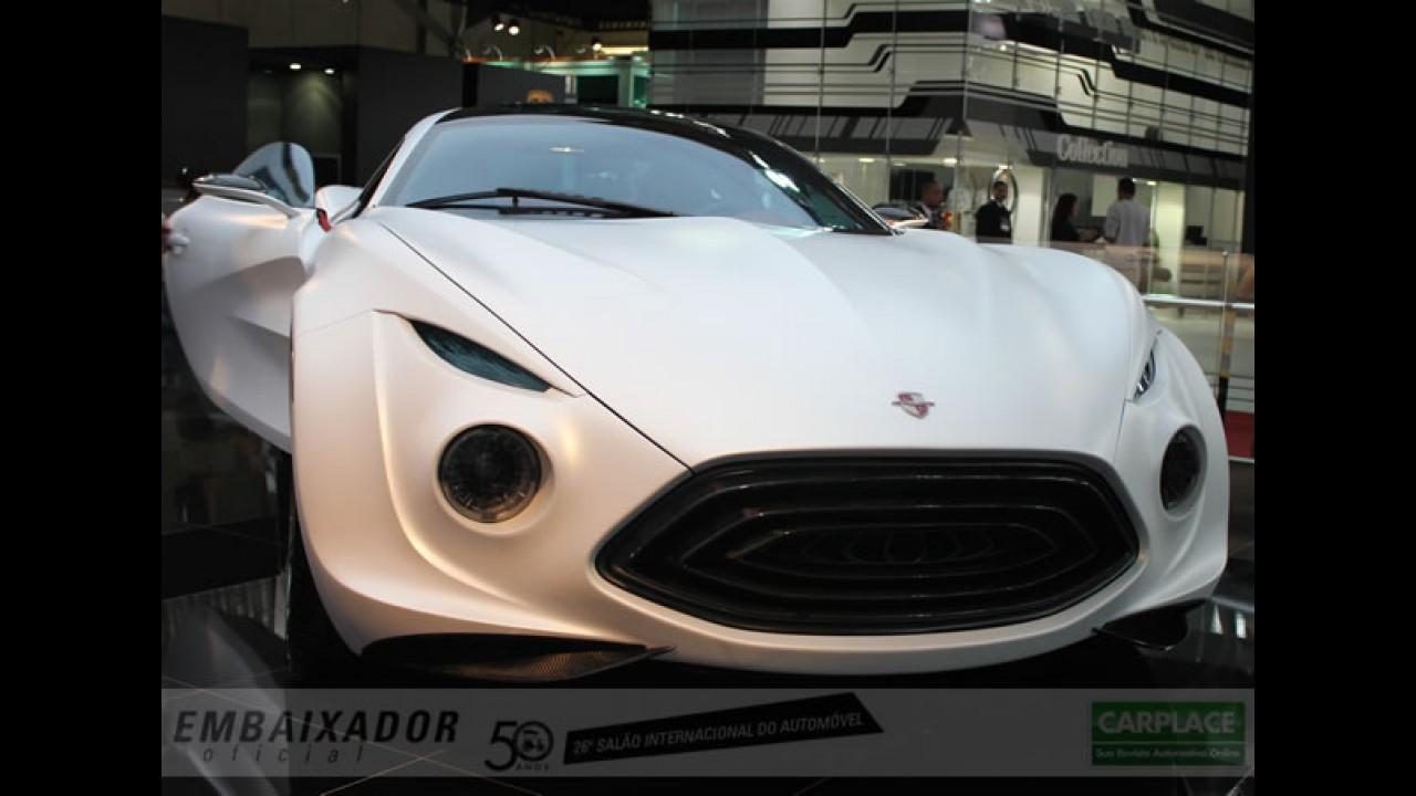 Vorax - Fotos do superesportivo brasileiro no Salão do Automóvel