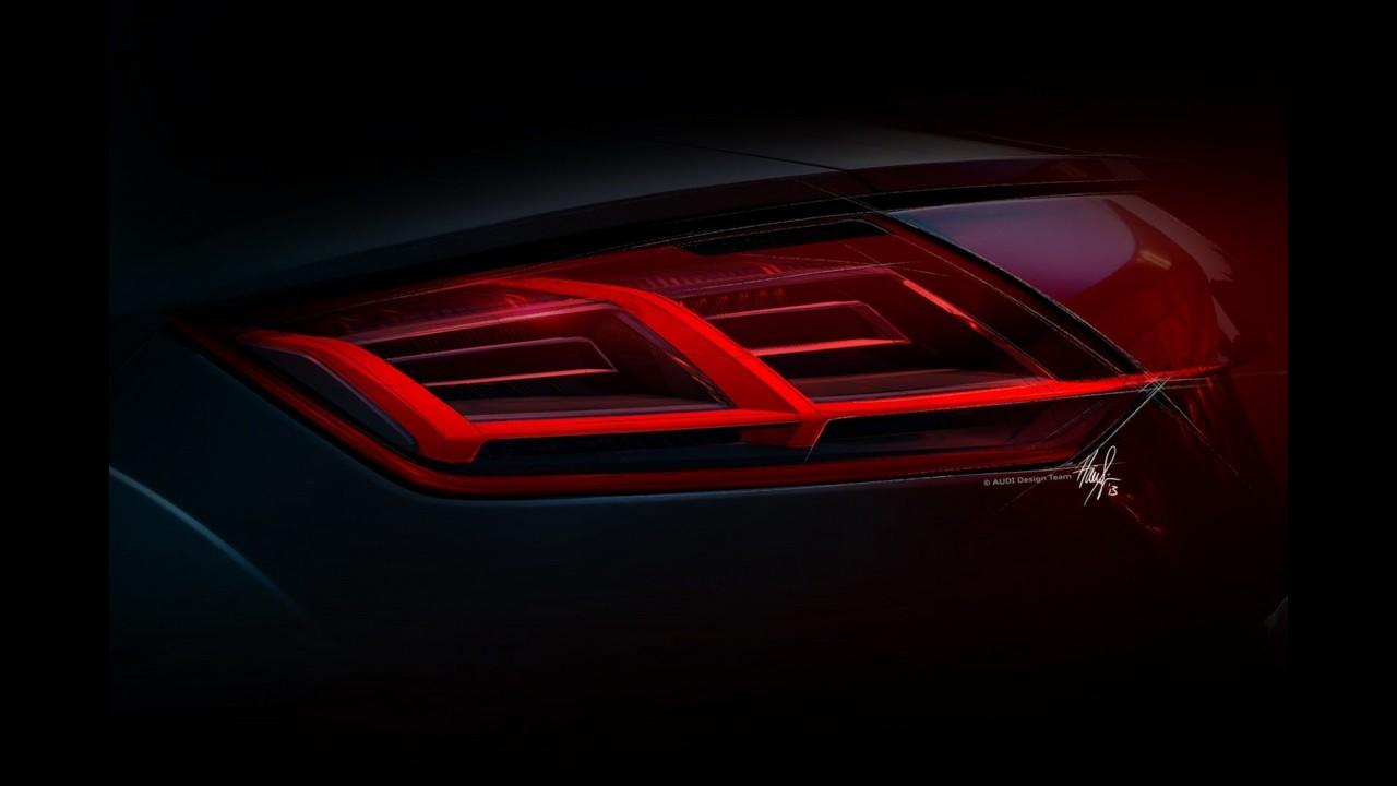 Audi divulga mais detalhes sobre o novo TT; lançamento acontece em Genebra