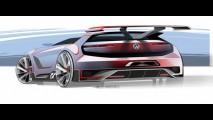 Animal! VW Golf GTI Vision Concept aparece em fotos e vídeo