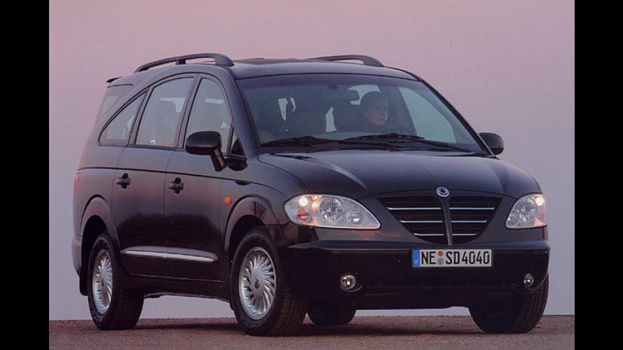 SsangYong Rodius: Großaumlimousine kommt im Mai 2005