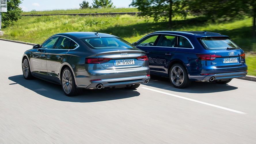 Audi présente ses A4 et A5 roulant au Gaz Naturel