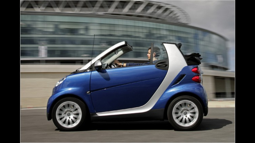 Smart Fortwo: Start-Stopp-Funktion in zwei Versionen Serie