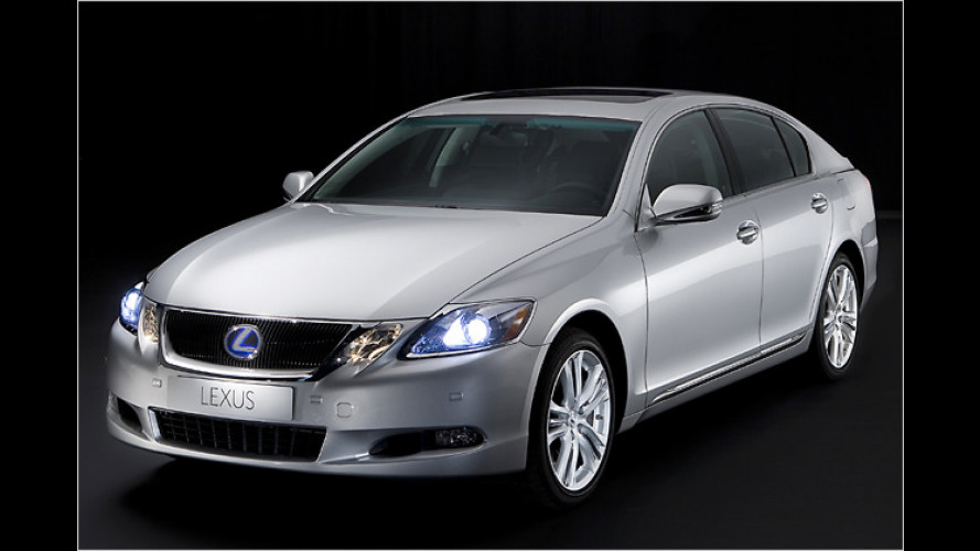 Lexus zeigt den GS 450h auf der IAA mit neuem Gesicht