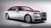 Rolls-Royce Phantom Shooting Brake ve Coupe tasarım çalışmaları