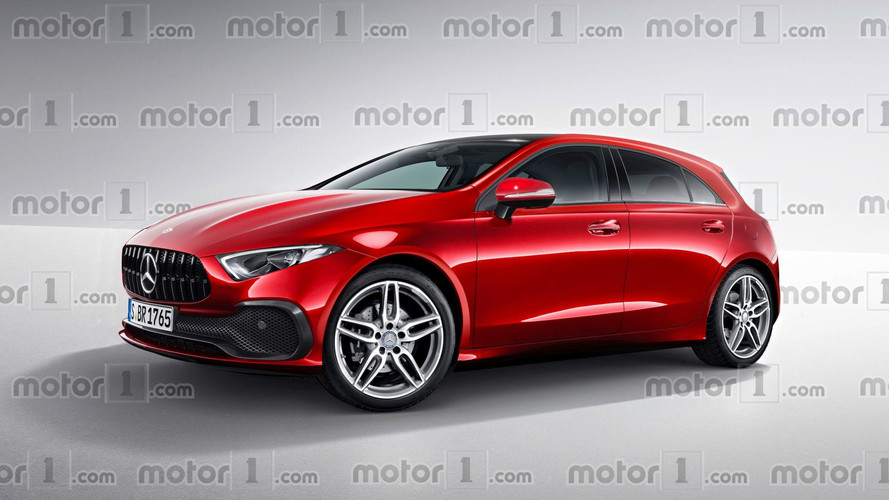 New Mercedes A-Class Render Transforms Sedan Concept Into Hatch