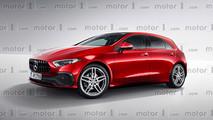 2018 Mercedes A-Serisi yeni tasarım yorumu