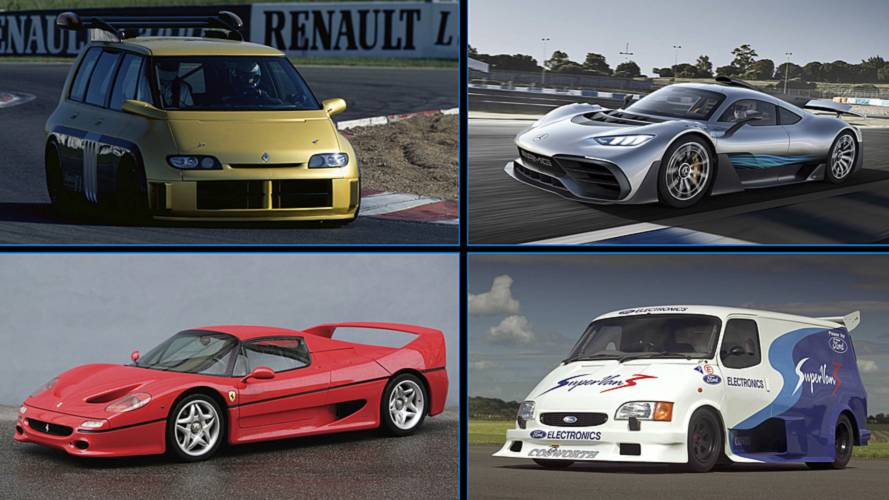 10 cars that have F1-derived engines