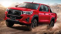 2018 Toyota Hilux facelift