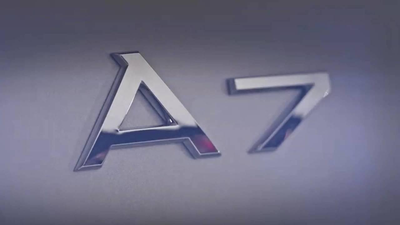 Audi A7 Teaser Video