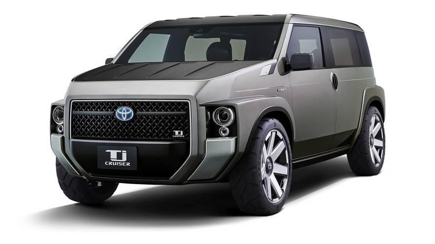 Toyota Tj Cruiser konsepti yarı van yarı SUV