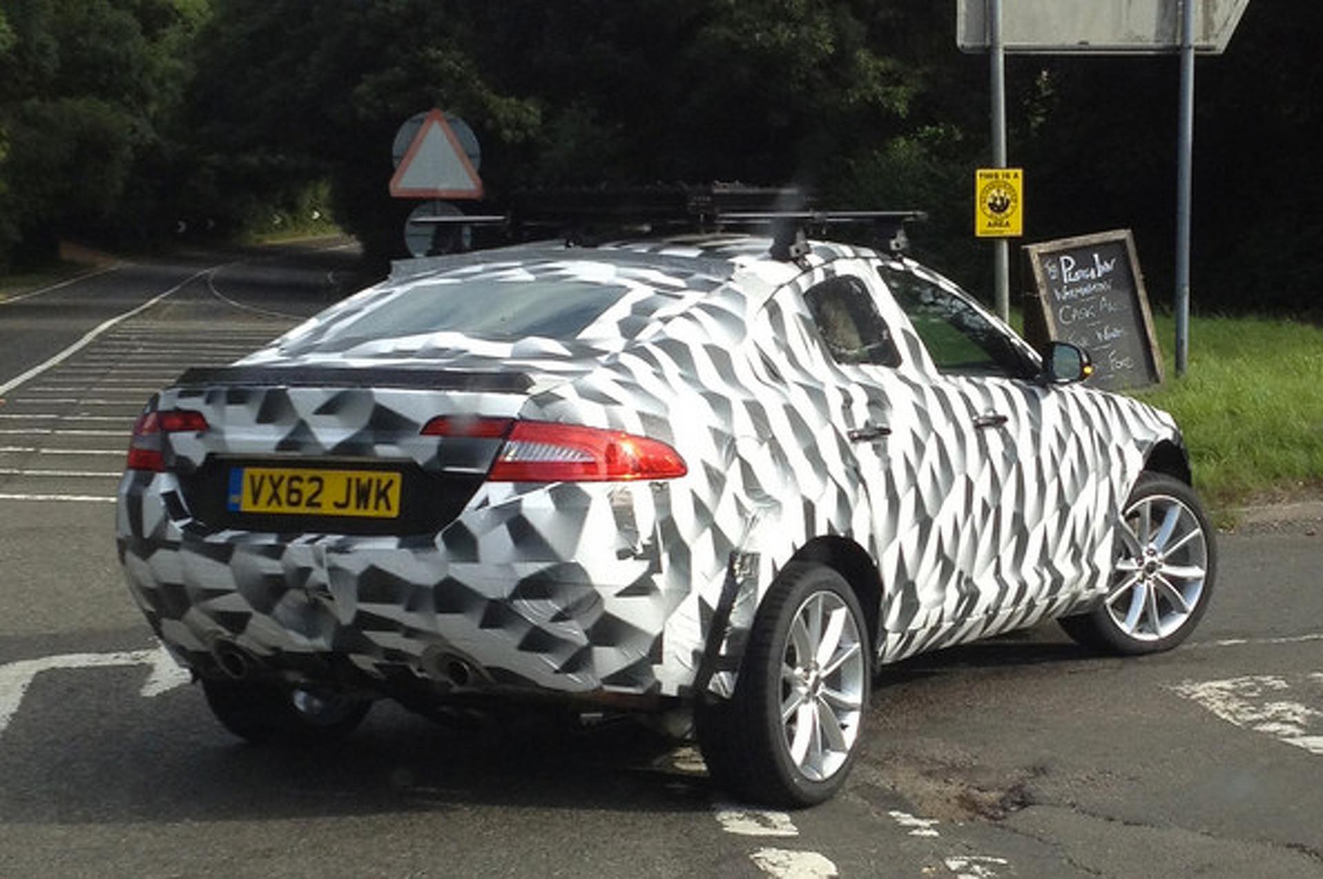 First Photos of Frankfurt-Bound Jaguar C-X17 SUV Concept
