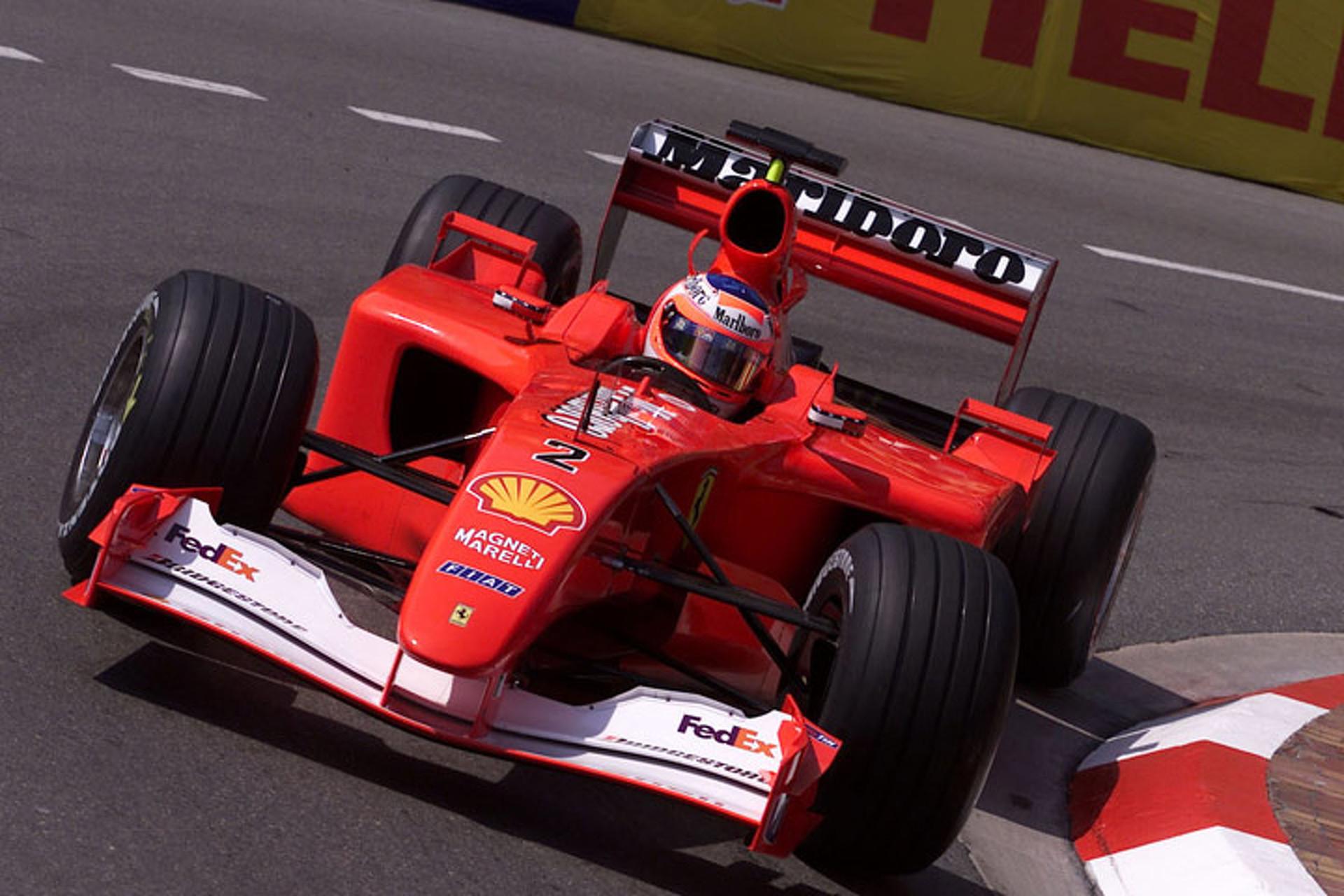 Up for Sale: Ferrari\'s 2001 Championship-Winning F1 Car