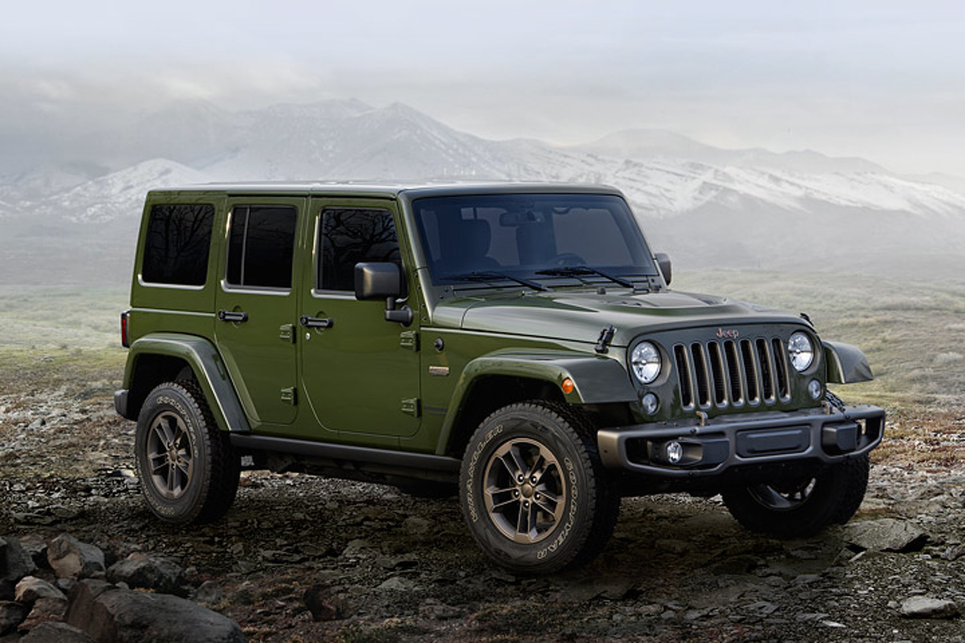 The Next Gen Jeep Wrangler Gets Diesel and Hybrid Variants