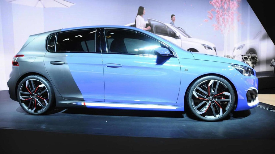 Peugeot 308 R Hybrid concept storms into Auto Shanghai with 500 PS and 730 Nm