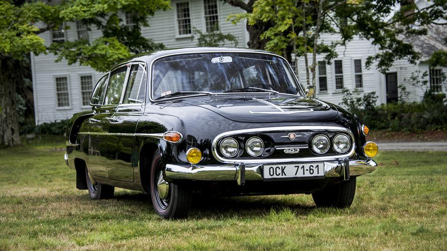 Soviet Bloc Cars Were Weird: Tatra 603