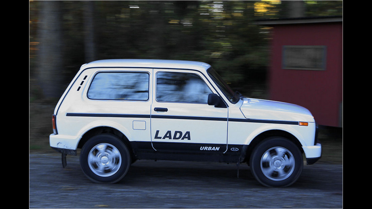 Lada 4x4 Taiga: 10.490 Euro