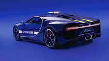 Bugatti Chiron Gendarmerie